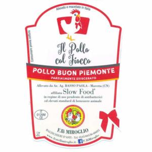 Etichetta Pollo col Fiocco